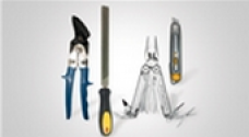 Sheet Scissors, Pipe Cutter, Knives, Files